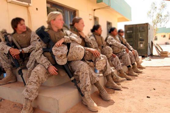 پینٹا گون سے خواتین فوجیوں بارے افسوسناک خبر