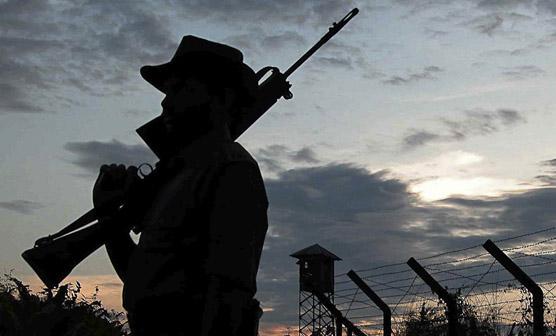 بھارت کا پھر حملہ , پاکستان کیساتھ گھمسان کارن پڑ گیا