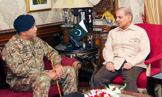 وزیراعلیٰ کی کور کمانڈر لاہور سے ملاقات, بڑا اعلان جاری