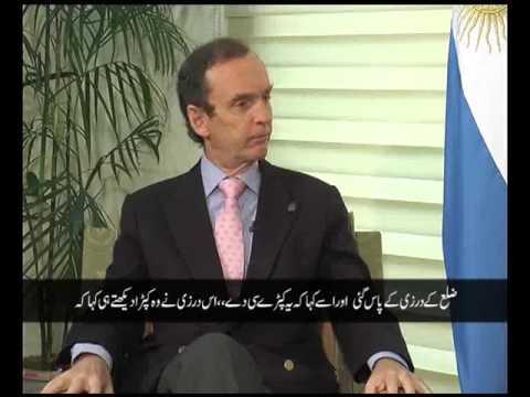 چینل ۵ کے پروگرام ڈپلو میٹک انکلو میں ارجنٹائن کے سفیر ہزہائی نیس جناب آئیوان کی خصوصی گفتگو