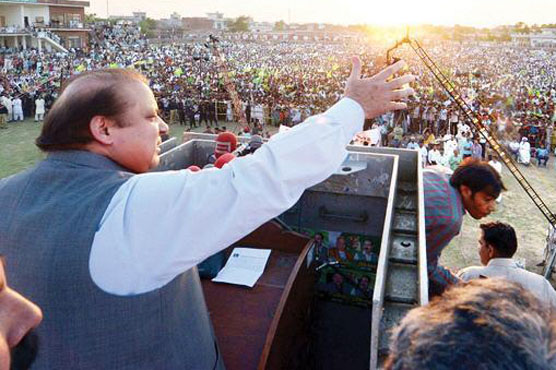 ہمارا جلسہ مخالفین کے مقابلے بہت بڑا ہے ….وزیر اعظم کا دبنگ خطاب