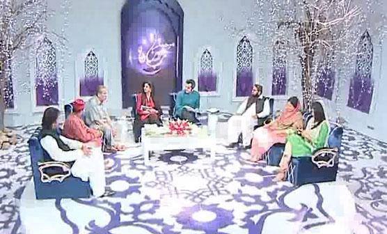 چینل فائیو کے پروگرام مرحبا رمضان میں چیف ایڈیٹر ضیا شاہد کی خصوصی گفتگو