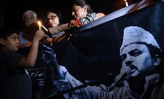 معروف قوال امجد صابری کی پہلی برسی
