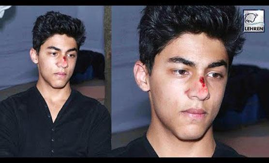 شاہ رخ خان کا بیٹا آریان حادثے میں شدید زخمی