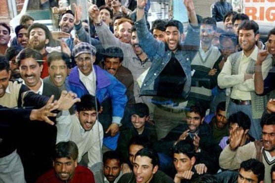 پاکستان کی جیت پر کشمیریوں کا ایسا جشن کہ بھارت چیخ اٹھا