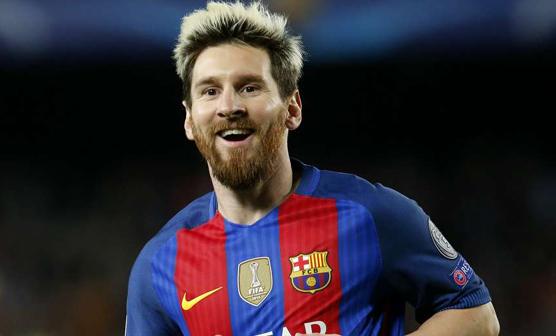 لالیگا ، بارسلونا نے اسپانوئل کو 4-0سے ہرا دیا، میسی کے 2گولز