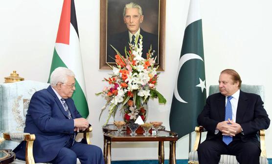 فلسطینی صدر اور نواز شریف میں ٹیلیفونک رابطہ,اندرونی کہانی سامنے آگئی