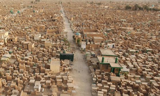 دنیا کا سب سے بڑا قبرستان کس ملک میں ہے،دیکھئے خبر