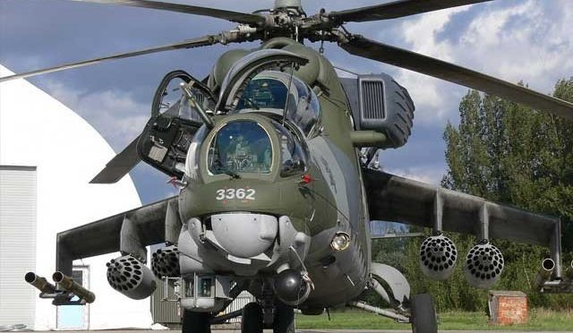 روس نے پاکستان کو 4 گن شپ ہیلی کاپٹر فراہم کردیئے