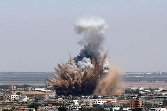 غزہ پر اسرائیلی بمباری سے 8 فلسطینی شہید