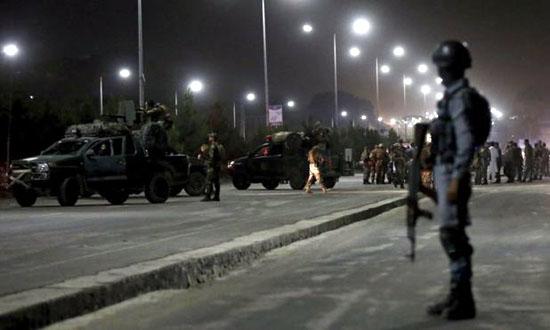 کابل میں فوجی اکیڈمی کے باہر خودکش حملے میں 15 کیڈٹ ہلاک