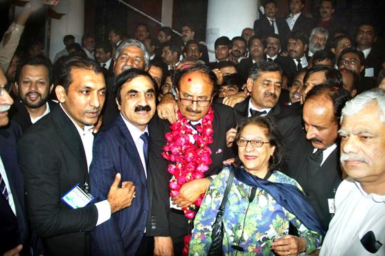 سپریم کورٹ بار کا سالانہ الیکشن عا ضمہ جہانگیر گروپ نے میدان مارا لیا