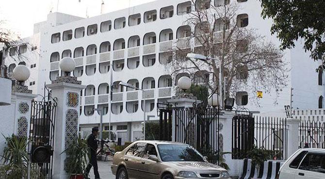 ایل او سی پر بھارتی فائرنگ بارے پاکستان نے ایڈین ڈپٹی ہائی کمیشنر کو کھری کھری سنا دیں