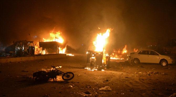 کوئٹہ کے علاقے نوحصار میں خود کش دھماکا، 4 ایف سی اہلکار شہید