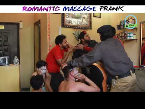 ROMANTIC MASSAGE PRANK    P 4 PAKAO BROUGHT TO YOU BY CHANNEL FIVE PAKISTAN THIS PRANK IS A JOINT VENTURE OF CHANNEL 5 AND P4PAKAOO