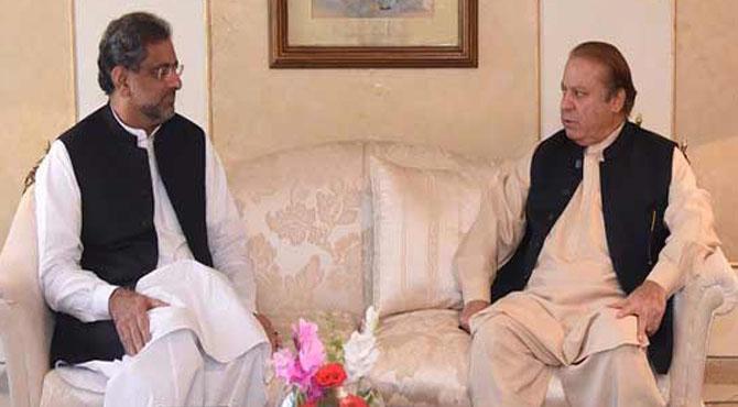 چیئرمین سینیٹ کا انتخاب، نواز شریف اور وزیرِ اعظم کے درمیان اہم ملاقات