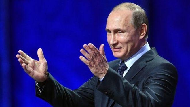 ولادیمر پوتن مزید چھ سال کے لیے روس کے صدر منتخب