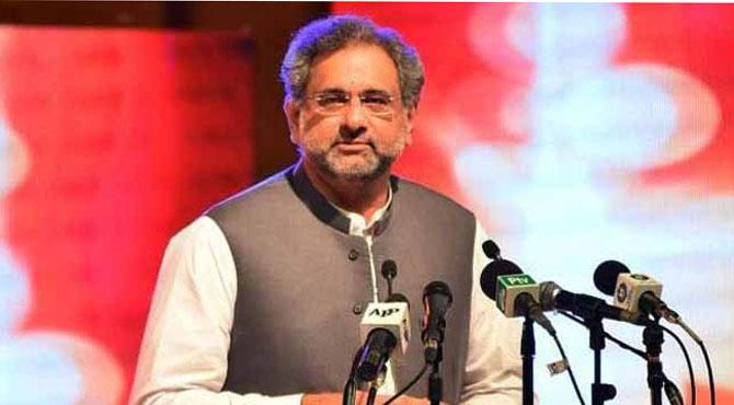 سیاستدانوں کا فیصلہ عوام کو کرنا ہے، وزیراعظم شاہد خاقان عباسی