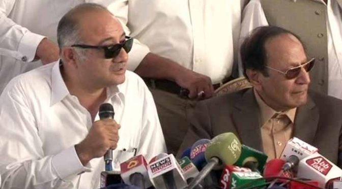 ق لیگ نے تحریک انصاف کی بڑی وکٹ گرادی، ایم پی اے وجیہ الزماں خان کی شمولیت کا اعلان