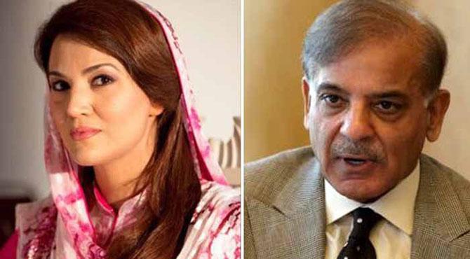 شہباز شریف نے ریحام خان سے رابطوں کے الزامات مسترد کردیئے