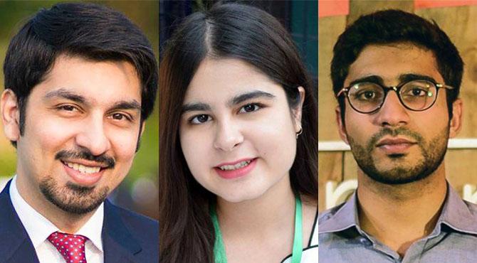 ملکہ برطانیہ کی جانب سے 3 پاکستانی نوجوانوں کیلئے 'کوئنز ینگ لیڈرز' ایوارڈ