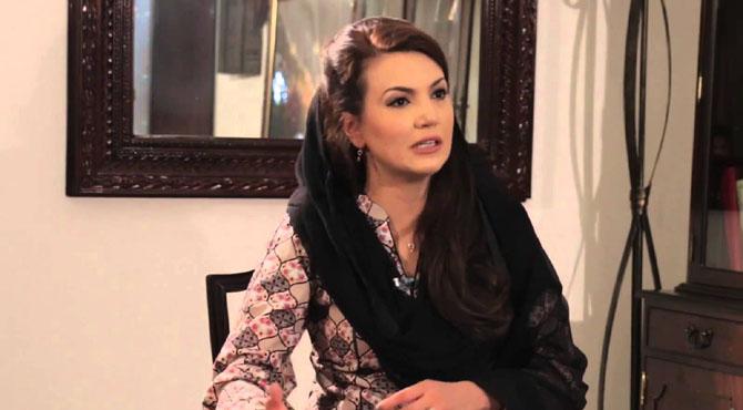 """پاکستان میں سیاسی عہدوں کیلئے """" جنس """" کا استعمال کیا جاتا ہے ، ریحام خان پھٹ پڑیں"""