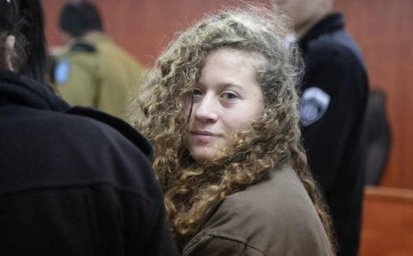 فلسطینی بہادر لڑکی احد تمیمی کے قریبی رشتہ دا رنو جوان کو اسرا ئیلی فو ج نے گولیاں مار کر قتل کر دیا