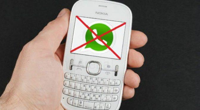 خبر دار کونسے سمارٹ موبائل فونز پر واٹس ایپ استعمال پر پابندی ،خبر آ گئی