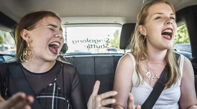 گانے گاتے رہیے اور ٹیکسی میں مفت سفر کیجئے