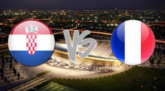 فٹبال ورلڈ کپ کا فائنل آج فرانس اور کروشیا کے درمیان رات9    بجے کھیلا جائے گا