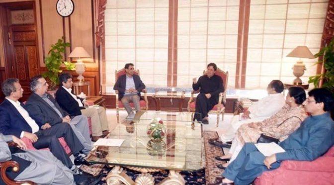 کراچی کے مسائل سے آگاہ ہیں ،عمران خان کی ایم کیو ایم وفد سے گفتگو