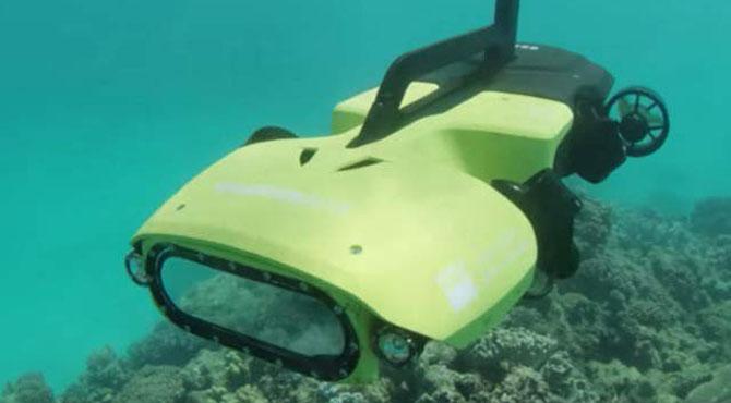 مرجانی چٹانوں کو بچانے والا زیرِ آب ٹرمنیٹر روبوٹ