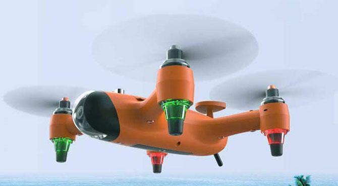 تھری ان ون ڈرون کی انوکھی ایجاد آب دوز ،کشتی ،ہوائی جہاز سب ساتھ