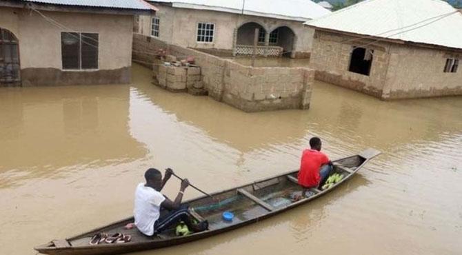 نائیجیریا میں سیلاب سے 100 افراد ہلاک