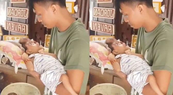 چہرے کے بغیر بچے کی پیدائش