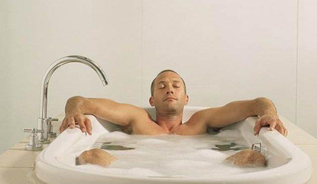 گرم پانی سے غسل، ڈپریشن میں کمی کا باعث