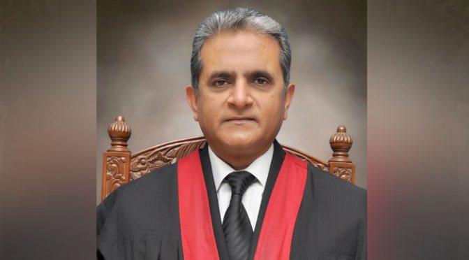 صدر پاکستان نے جسٹس انوارالحق کو لاہور ہائیکورٹ کا چیف جسٹس مقرر کردیا
