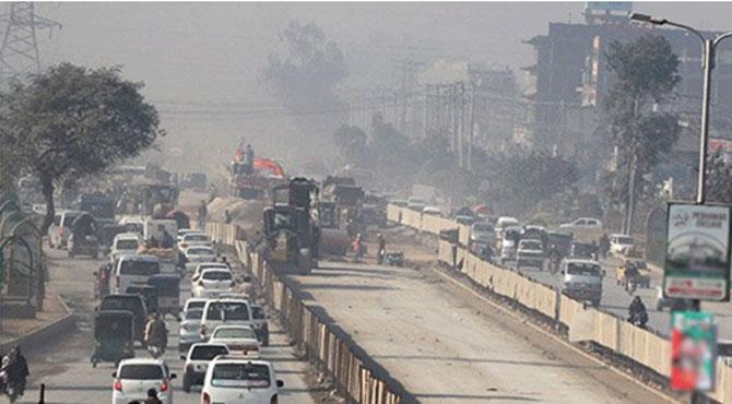 پشاور میں میگا بس منصوبہ ایک سال بعد بھی مکمل نہ ہوسکا