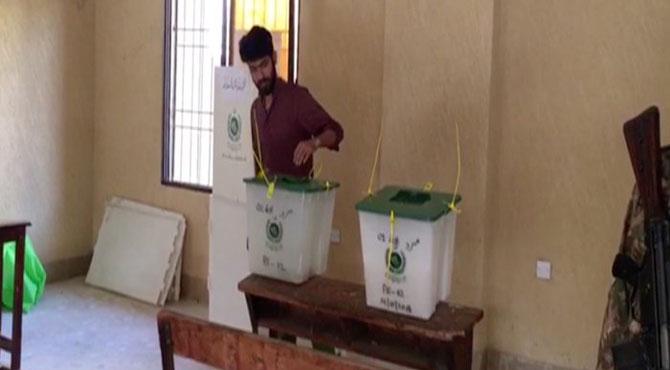 35 نشستوں پر ضمنی انتخابات کیلئے پولنگ کا وقت ختم