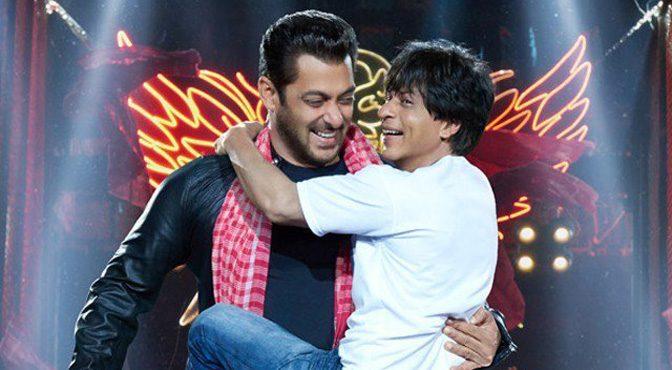 فلم 'زیرو' میں سلمان اور شاہ رخ خان کے گانے کی دھوم