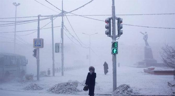 دنیا کا سرد ترین مقام جہاں زندگی 20 سیکنڈ میں جم جاتی ہے
