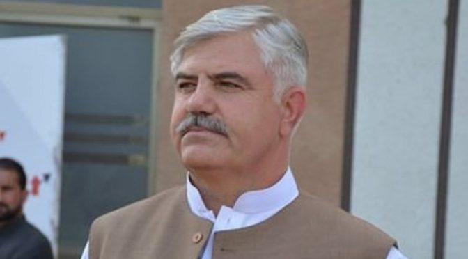 وزیراعلیٰ خیبرپختونخوا محمود خان مالم جبہ اراضی کیس میں نیب کے سامنے پیش