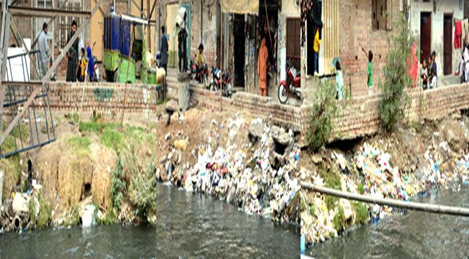لاہور کے گندے نالوں پر رہائش پذیر لوگ وائرس زدہ پانی پینے پر مجبور ، جان لیوا بیماریوں میں اضافہ ، پانی کی پائپ لائنیں سیوریج کے پانی کے ساتھ ملی ہوئی ہیں، حکومت واٹرفلٹریشن پلانٹ لگائے، خبریں سروے میں شہری پھٹ پڑے
