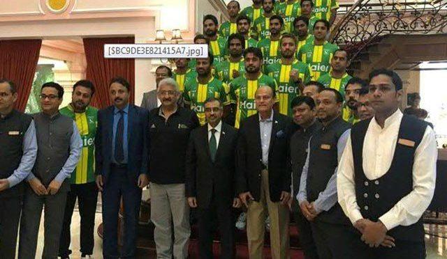 پاکستانی ہائی کمیشن کا قومی ہاکی ٹیم کے اعزاز میں پر وقار ظہرانے کا اہتمام