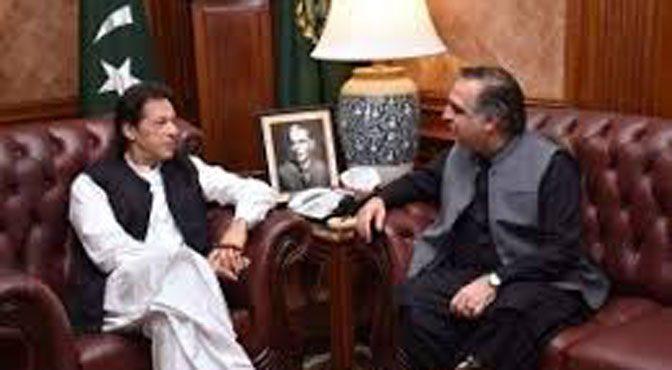 وزیراعظم اورگورنر سندھ کی ون آن ون ملاقات، سیاسی و ترقیاتی معاملات پر گفتگو