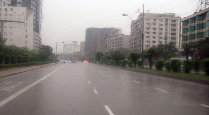 کراچی میں آج سے یخ بستہ ہوائیں چلنے کا امکان