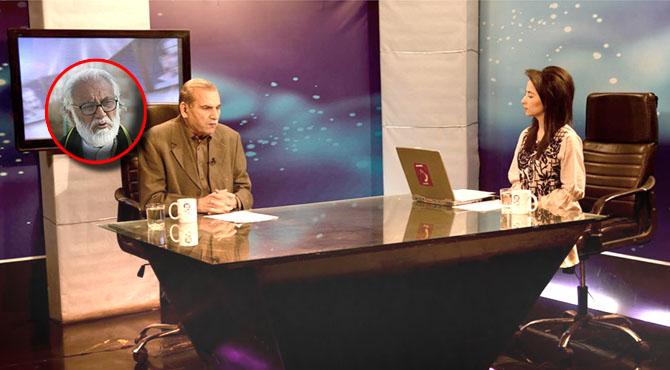 """زرداری کا آرمی چیف کیخلاف بیان ، نواز کی عوام رابطہ مہم سیاسی محاذ آرائی کا پیش خیمہ :ضیا شاہد ، طالبان سے مذاکرات ہی امریکہ کی افغانستان سے واپسی کا واحد راستہ : سردار آصف ، چینل۵ کے پروگرام """" ضیا شاہد کے ساتھ """" میں گفتگو"""