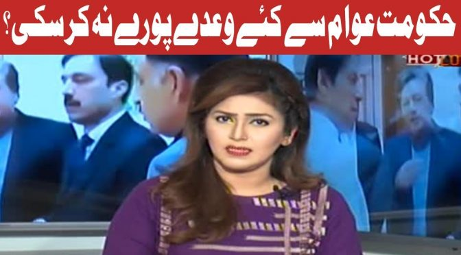 Hot Lunch | Performance of PTI Government | 24 January 2019 | Channel Five