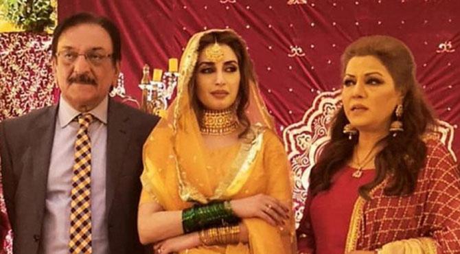 میجر عزیز بھٹی( شہید)کے پو تے کا لیجنڈ اداکار عابد علی کی بیٹی سے نکاح،تقریب میں شوبز ستاروں کا رقص ، خوب جلوے بکھیرے