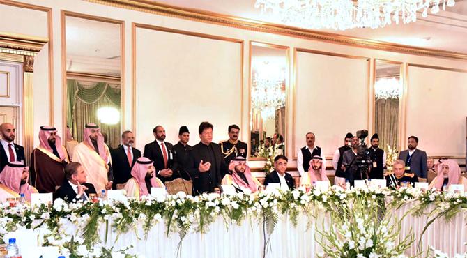 تعلقات نئی بلندیوں پر جائینگے : عمران خان
